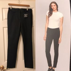 Andrew Marc Stretch & Structure Black Pants Size 8